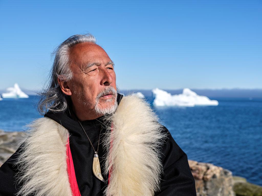 Grönland-Schamane Angaagaq - Interview mit Gerald Ehegartner