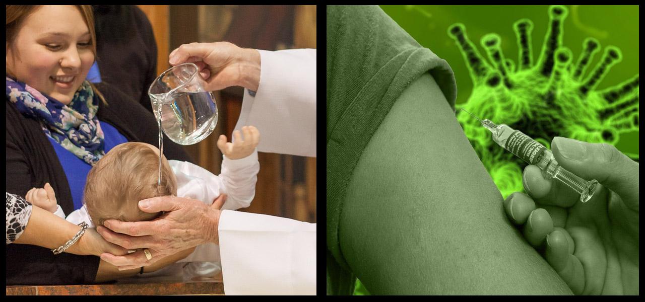 Corona Impfung - die neue Taufe?
